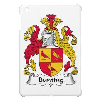 Bunting Family Crest iPad Mini Cases