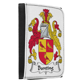 Bunting Family Crest Trifold Wallet