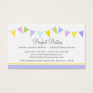 Party planners business cards zrom childrens party planner business cards templates zazzle cheaphphosting Choice Image