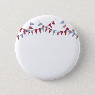 Bunting - pinback button