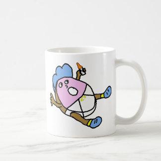 Buñuelo condimentado bebé taza de café