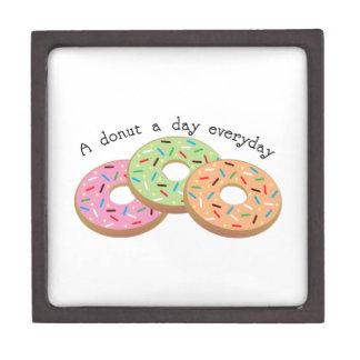 Buñuelo de Donut_A al día diario Cajas De Joyas De Calidad