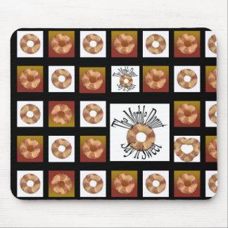 Buñuelo de mármol alfombrillas de ratón