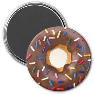 buñuelo del chocolate imán redondo 7 cm