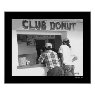 Buñuelo del club póster