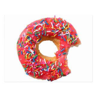 Buñuelo del postre de los dulces de los anillos de postales