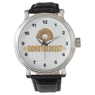 Buñuelo divertido relojes de pulsera