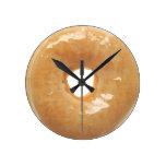 Buñuelo esmaltado relojes de pared