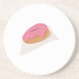 Buñuelo helado posavasos de arenisca