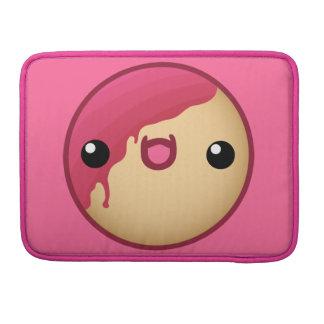 Buñuelo rosado funda para macbooks