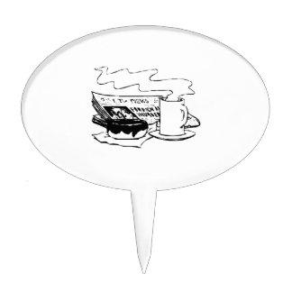 Buñuelo y café
