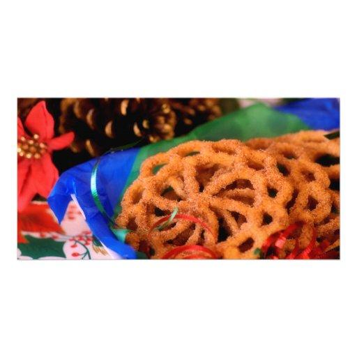 Buñuelos, Christmas Photo Card
