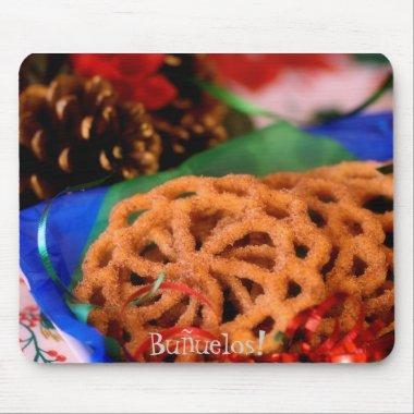 Buñuelos, Christmas Treats, Mousepad