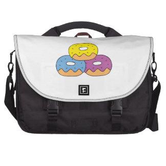 Buñuelos coloridos bolsas para portatil
