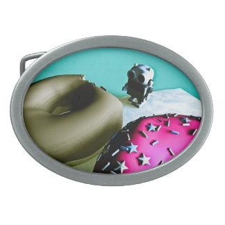 Buñuelos y hebilla del cinturón del robot 02 del j hebillas cinturon
