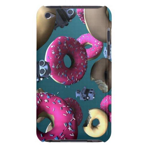 Buñuelos y robot 03 del juguete iPod touch Case-Mate cobertura