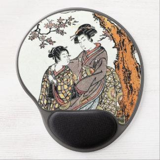 Bun'ya Yasuhide, de la serie seis Immort poéticos Alfombrilla De Ratón Con Gel