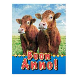 Buon Anno! Postcard