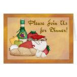 Buon Appetito Dinner Invitation Card