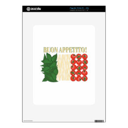 Buon Appetito iPad Decal