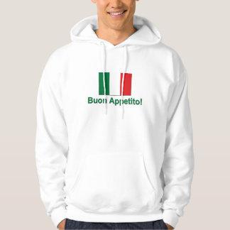 Buon Appetito (verde) Jersey Con Capucha