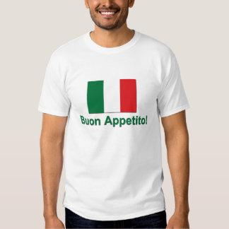 Buon Appetito (verde) Remera