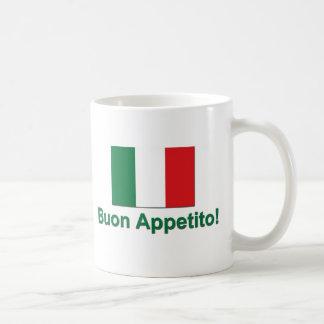 Buon Appetito (verde) Taza