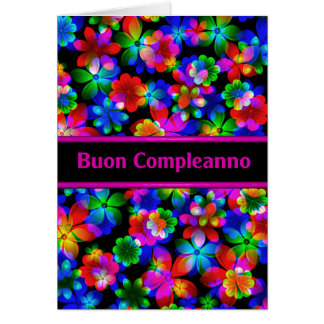 italian birthday greeting cards  zazzle, Birthday card