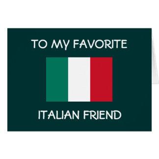 BUON COMPLEANNO ****ITALIAN FRIEND'S CARD**** CARD