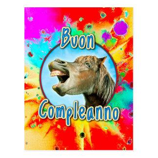 Buon Compleanno Postcard