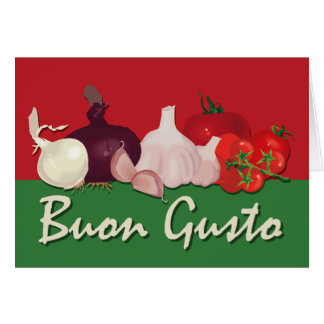 Buon Gusto Note Cards