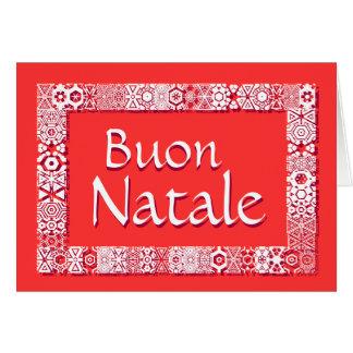 Buon Natale Biglietto Di Auguri Tarjeta De Felicitación