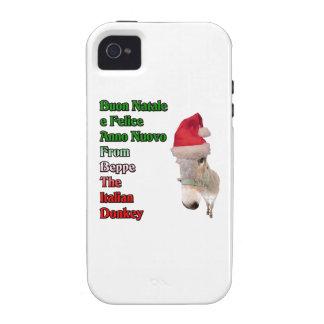 Buon Natale e Felice Anno Nuovo iPhone 4 Cases