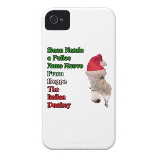 Buon Natale e Felice Anno Nuovo Case-Mate iPhone 4 Case