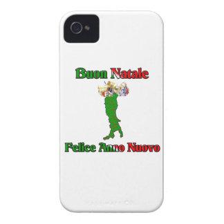 Buon Natale e Felice Anno Nuovo iPhone 4 Cover