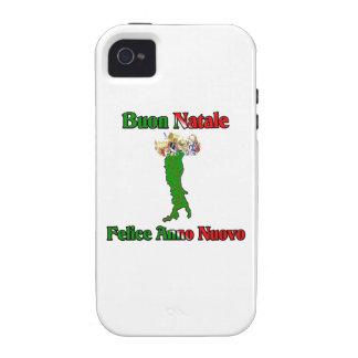 Buon Natale e Felice Anno Nuovo Vibe iPhone 4 Cases