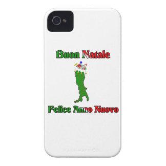 Buon Natale e Felice Anno Nuovo... iPhone 4 Case-Mate Case