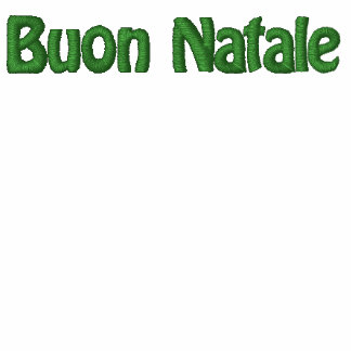 Buon Natale Embroidered Shirt