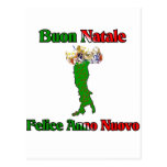 Buon Natale Felice Anno Nuovo Postcard