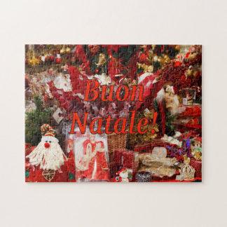 ¡Buon Natale! Felices Navidad en el rf italiano Puzzle