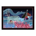 Buon Natale - Felices Navidad Tarjetón