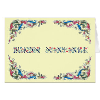 Buon natale - Florencia design Greeting Cards