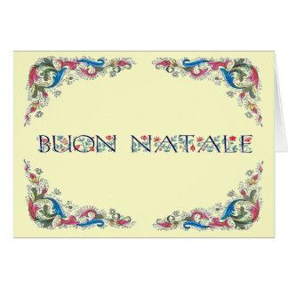Buon natale - Florencia design Card