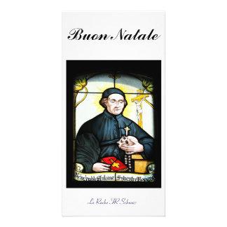 Buon Natale Fotokarte Tarjeta Personal