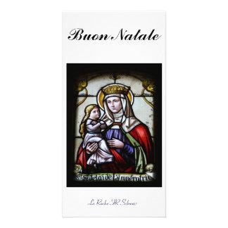 Buon Natale Fotokarte Tarjetas Fotográficas