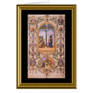 Buon natale - Hail Mary in Italian Cards