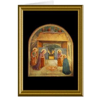 Buon natale - Hail Mary in Italian Greeting Card