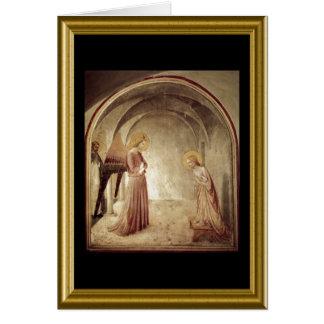 Buon natale - Hail Mary in Italian Card