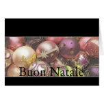 Buon Natale - Italian Christmas Card