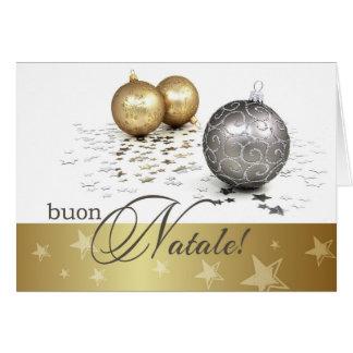 Buon Natale. Italian Christmas Cards